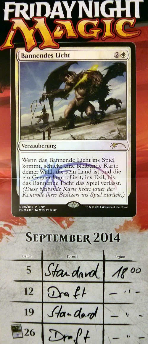FNM Sept. 2014 Banishing Light